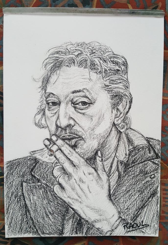 Serge Gainsbourg par Raoul.G